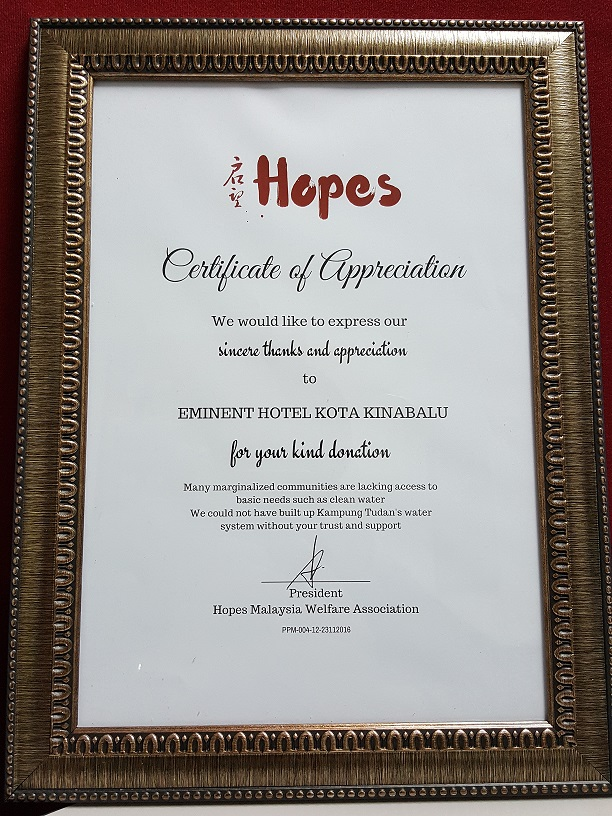 News updates eminent hotel certificate of appreciation yelopaper Image collections